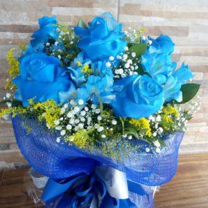 Buquê Charme Azul